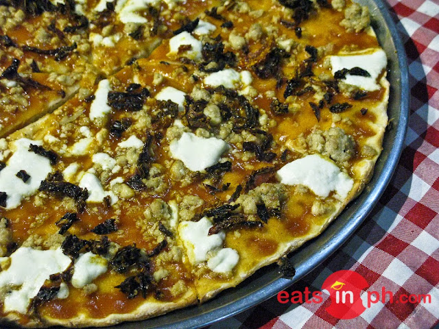 Marco's 3-way Pizza from Historic Camalig Restaurant in Angeles City, Pampanga