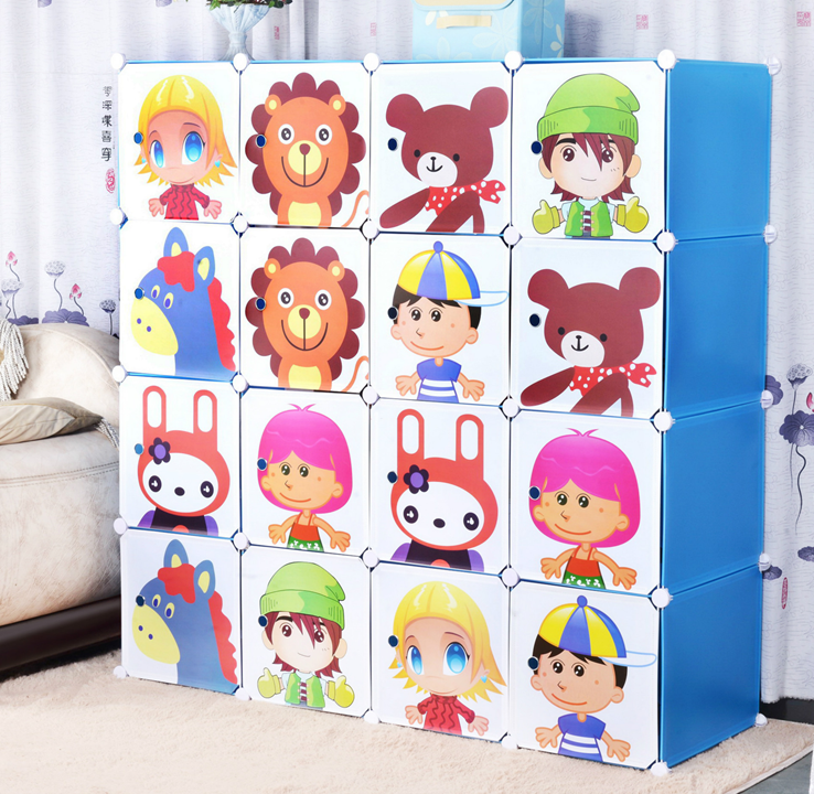 Zelt Cube Wardrobe : Hawa beauty house cube cartoon wardrobe
