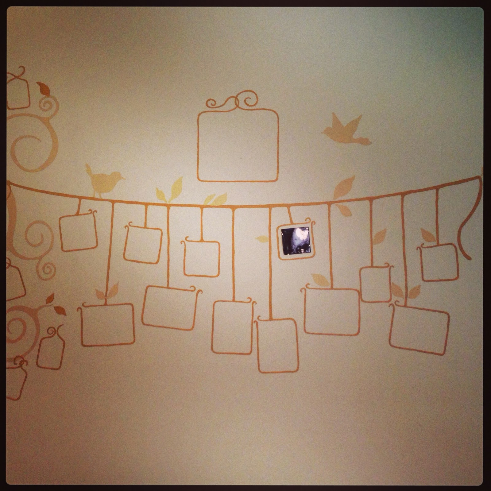 Underneath the Paint: Summer Project #2: Family Tree Mural