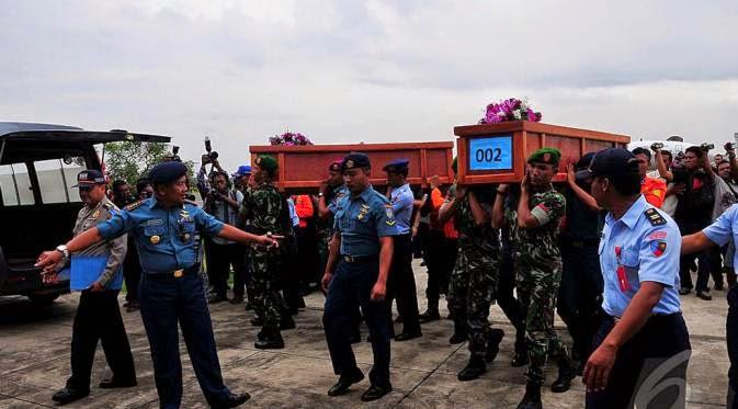 DAFTAR NAMA JENAZAH TRAGEDI AIRASIA QZ8501