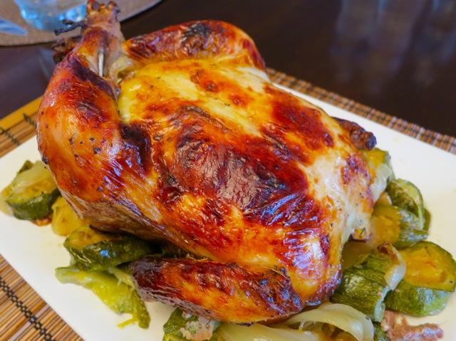 Курица в пиве в духовке целиком рецепт