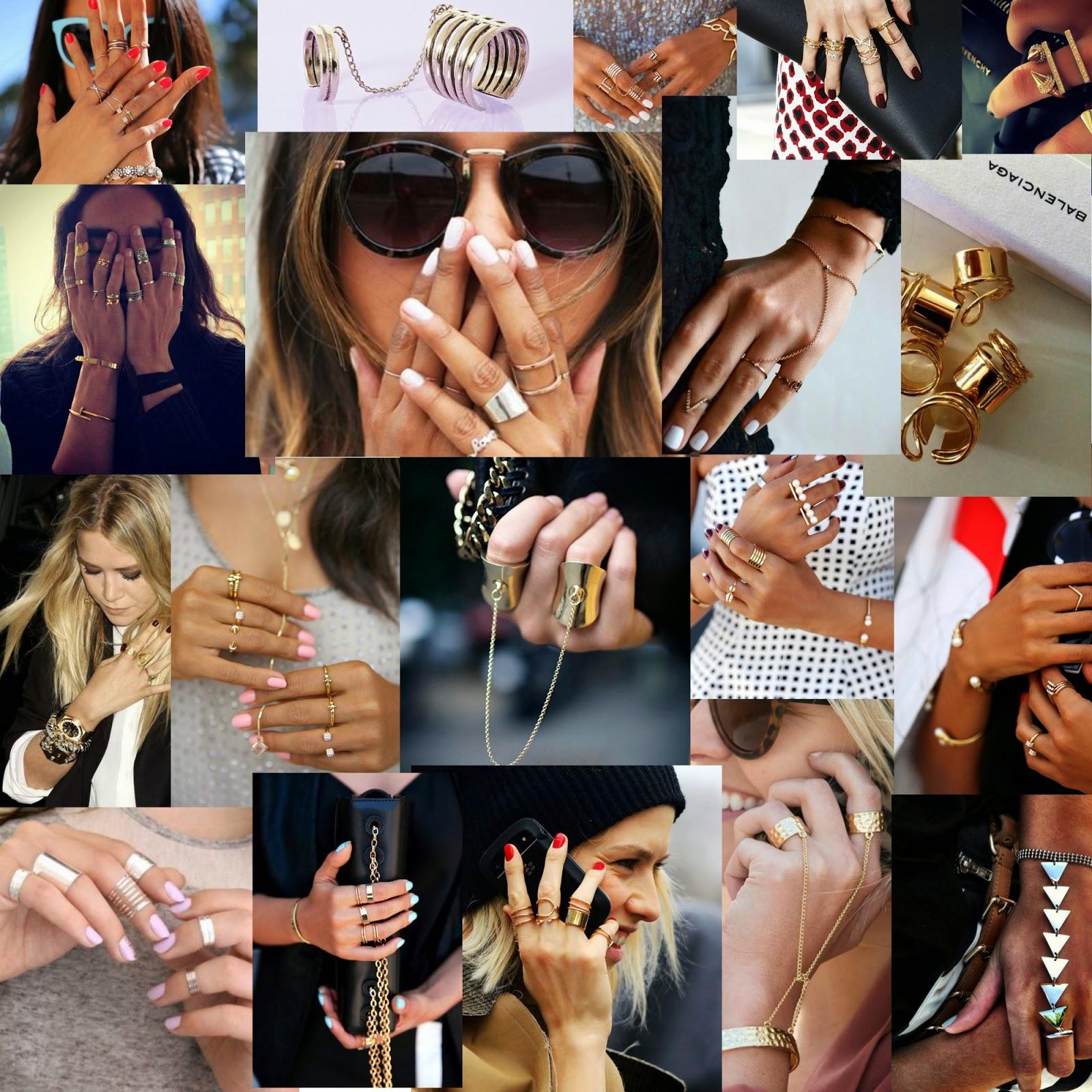 Dedos llenos de anillos. Pack anillos. Dedos falanges. Anillos múltiples. Anillos en todos los tamaños. Anillos para todos los dedos. Anillos para las uñas