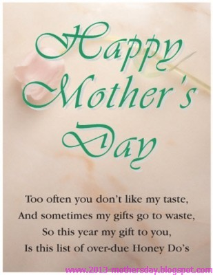 Happy Motheru0027s Day Love Quotes 2013