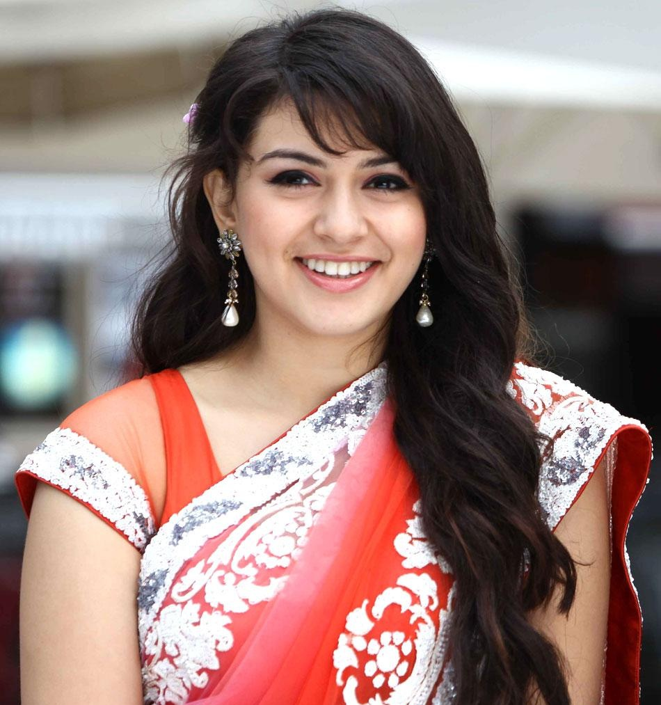 hansika: tamil actress hansika beautiful photos in saree