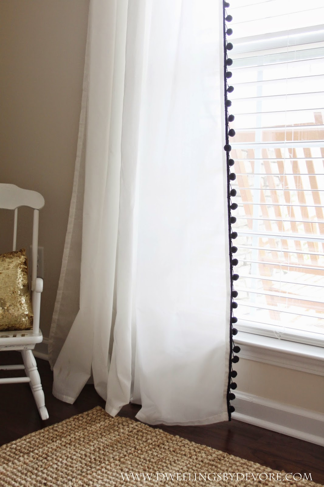 Modern Bay Window Curtains