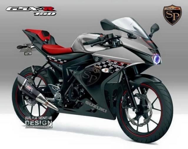 Keren Ini 19 Gambar Modifikasi Warna Suzuki Gsx R150