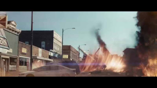 man of steel smallville fire fight