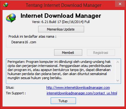 Download IDM 6.21 Build 17 Final Full Version Terbaru 2015