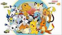 Digimon y Pokemon: Crossover del opening