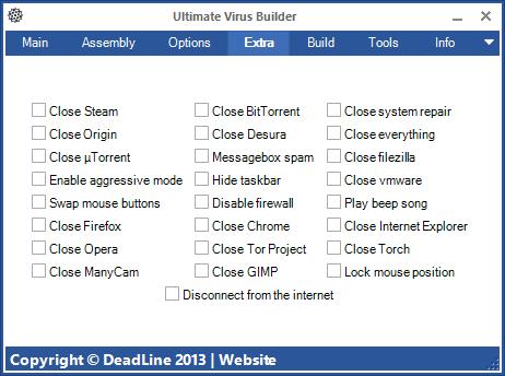 Gratis Free Download Ultimate Virus Builder Full Version