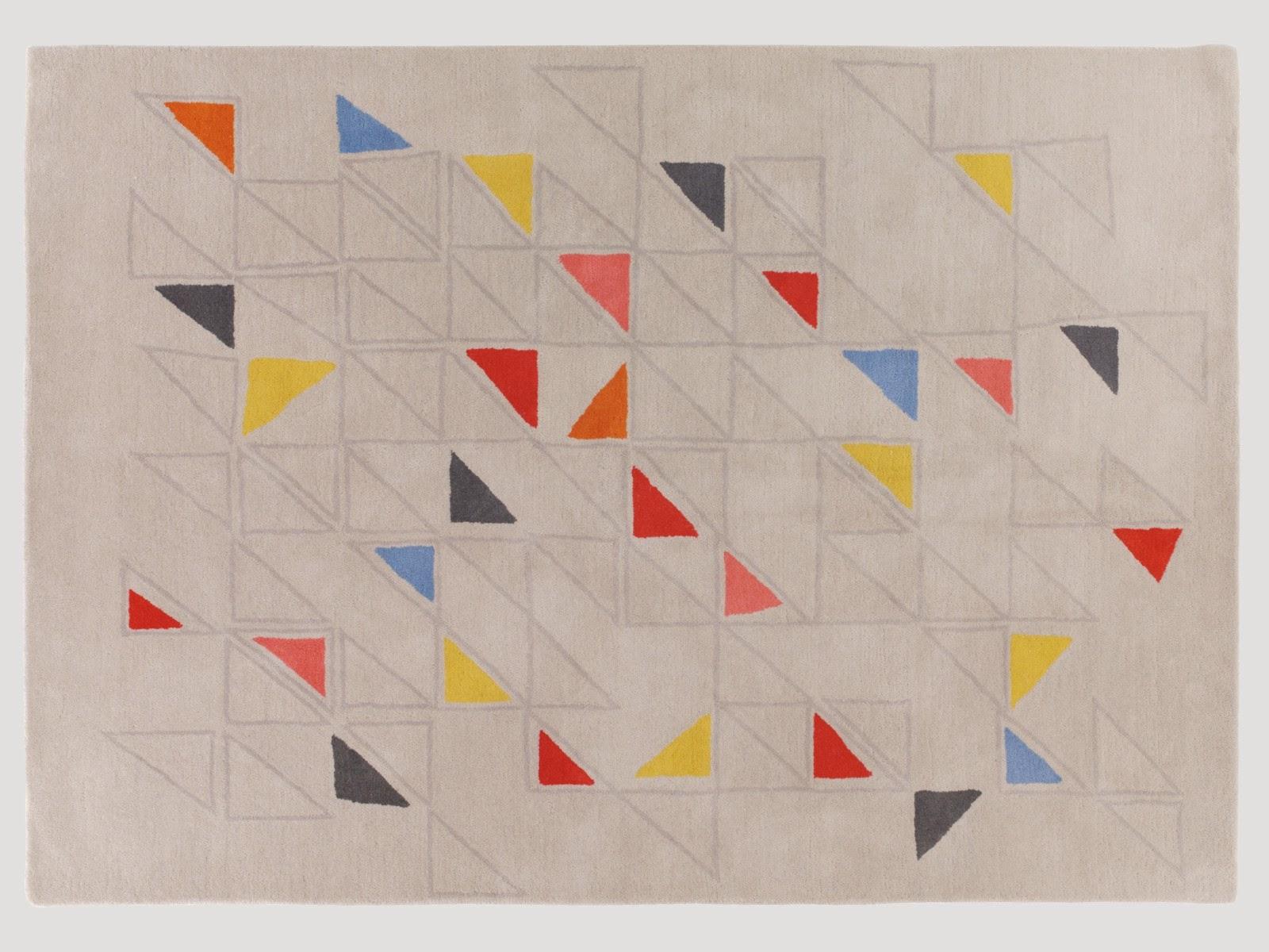 habitat geometric rug