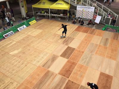 全日本フリースタイルスケートボード選手権2015