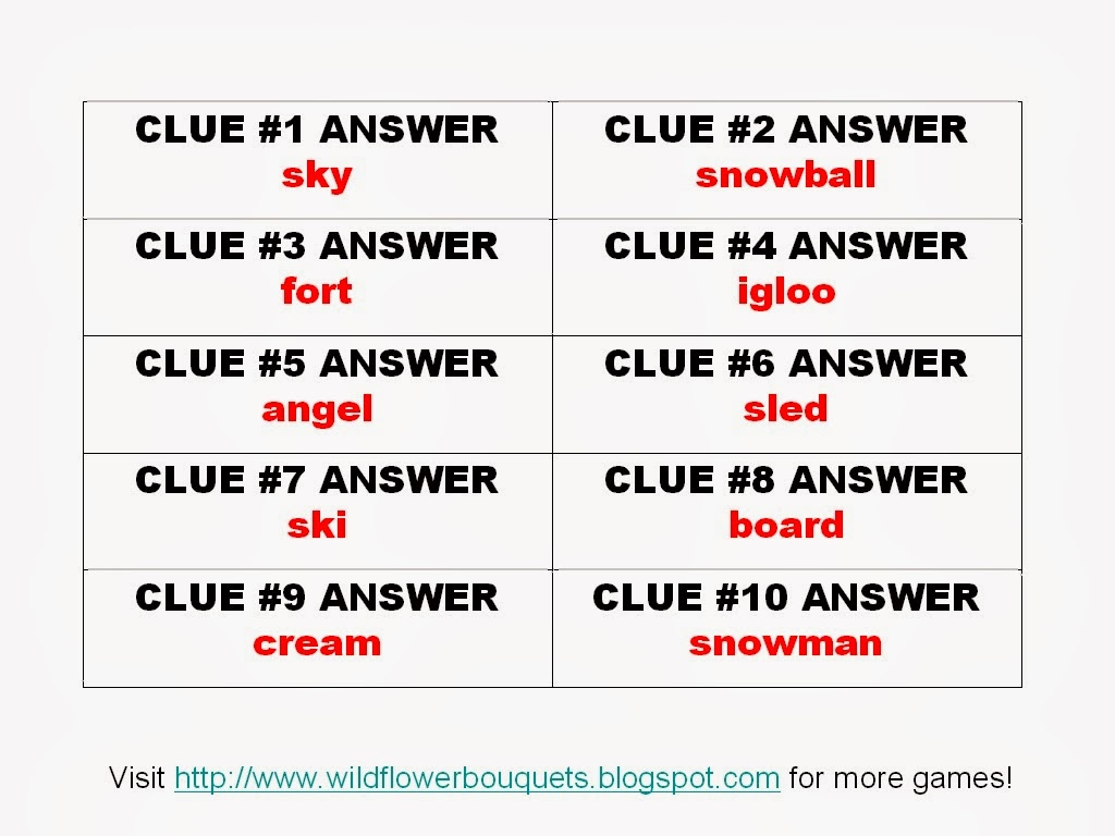 Enjoy simple pleasures katrena s scavenger hunt 11 snow fun