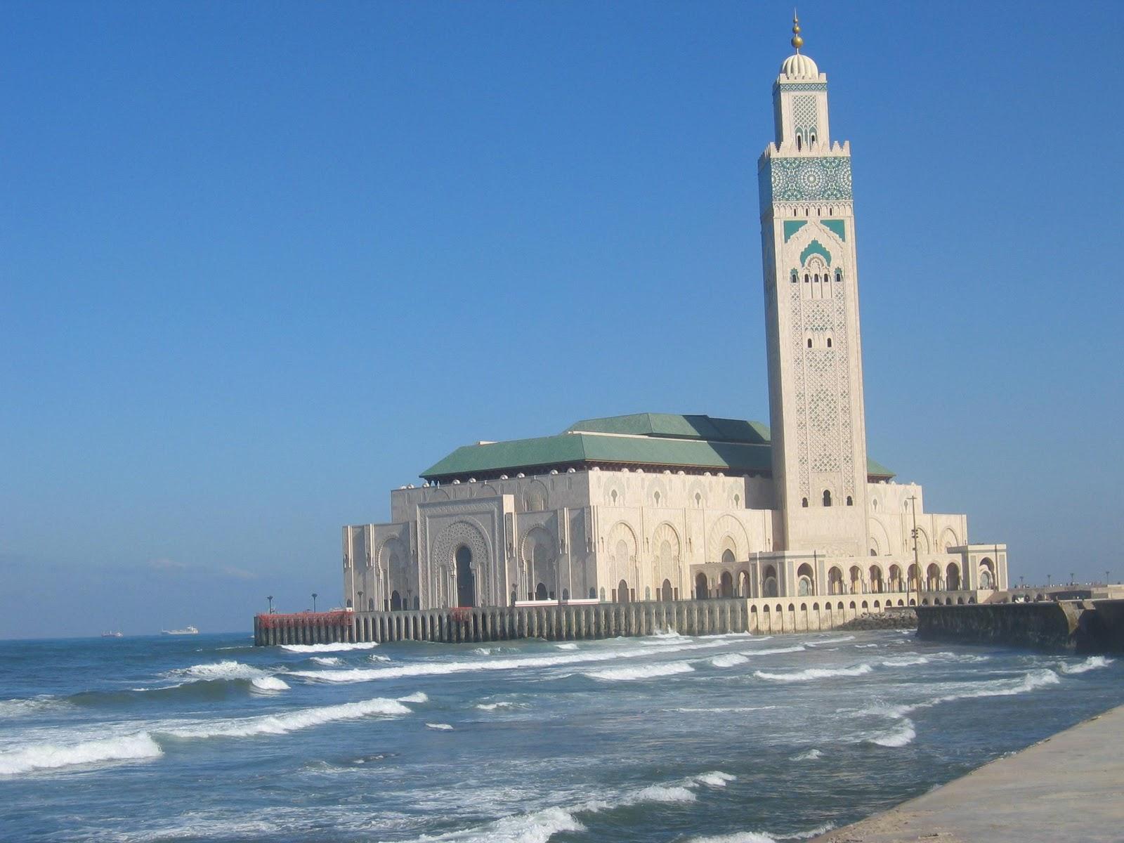 1001 mosques hassan ii mosque morocco - Marocco casablanca ...