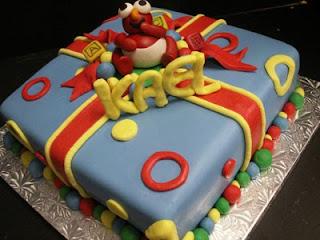 Creative Elmo Birthday Cakes
