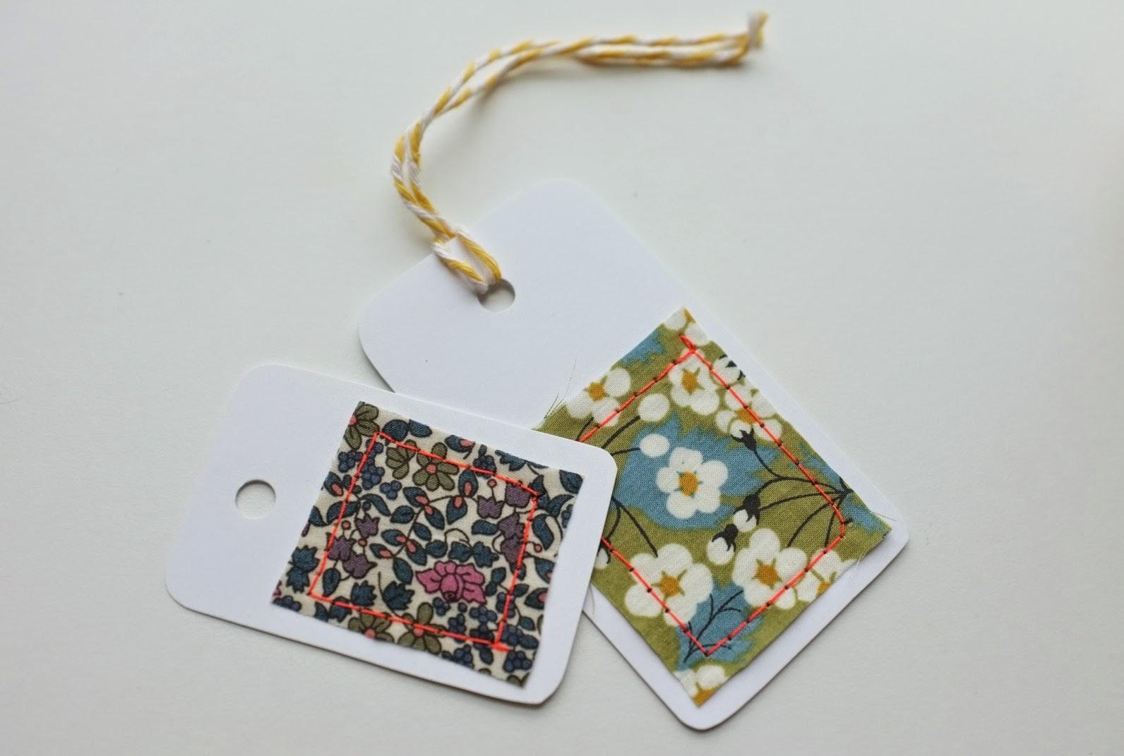 julie adore que faire avec des chutes de tissu diy etiquettes. Black Bedroom Furniture Sets. Home Design Ideas