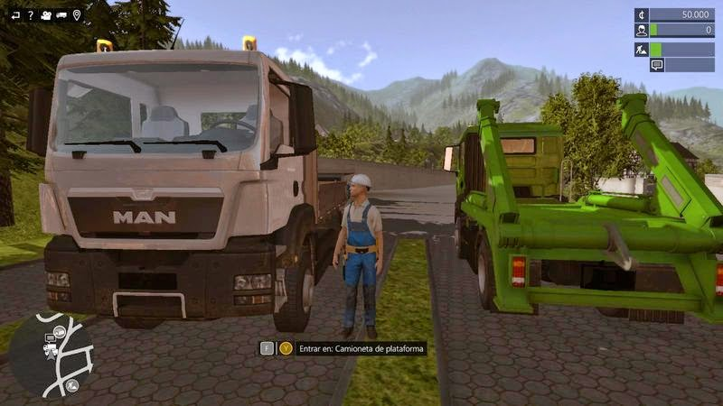 Construction Simulator 2015 Multilenguaje (Castellano)