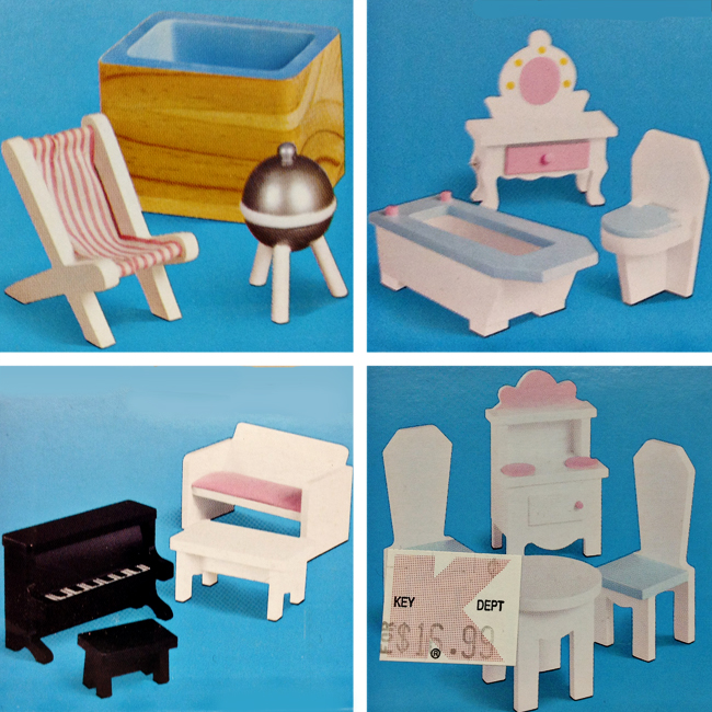these are the other sets in the series patio bathroom living room and dining they only had one of each so thats why i wasnt going to wait and see if dreamz bathroom dollhouse