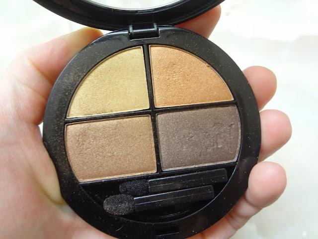 Close up of Annabelle Chai Chai Chai Eyeshadow Quad