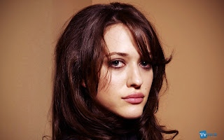 Kat Dennings from 2 Broke Girl Tv Series HD Wallpaper