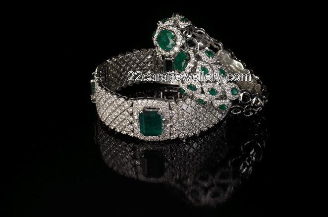 Exquisite Diamond Bracelets Jewellery Designs