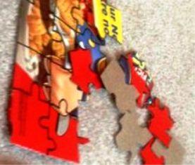 Cara Membuat Puzzle bergambar dari kardus Susu atau snack lainnya