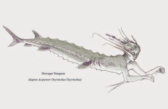 Dowager Sturgeon Mermaid