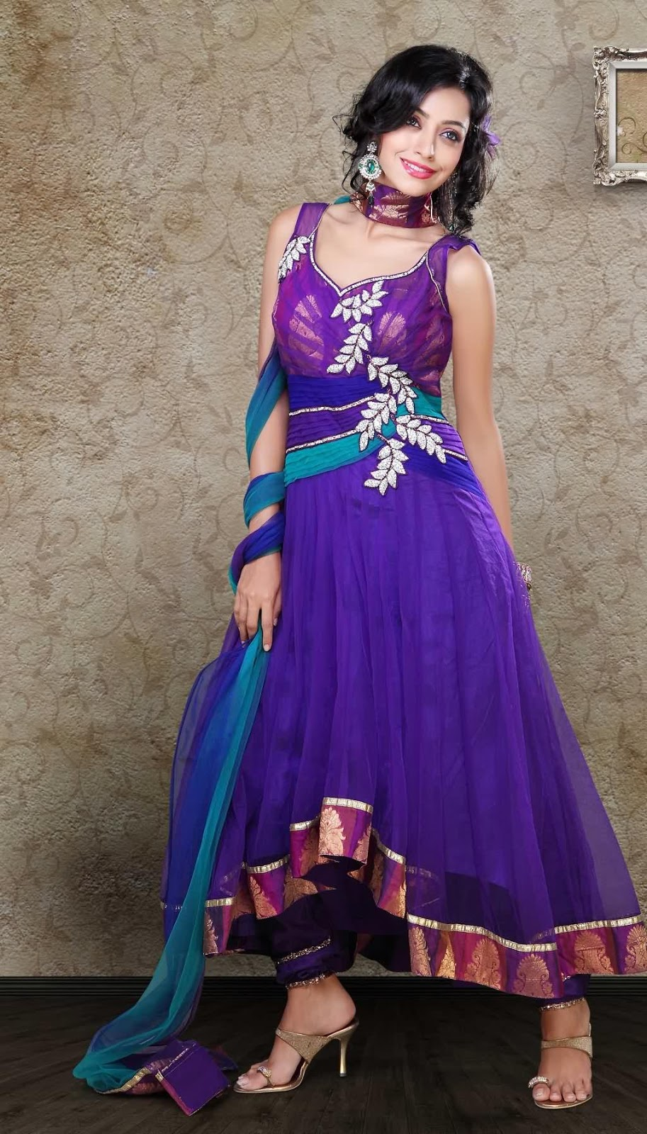 Salwar kameez designs neck designs 2014 photos anarkali salwar