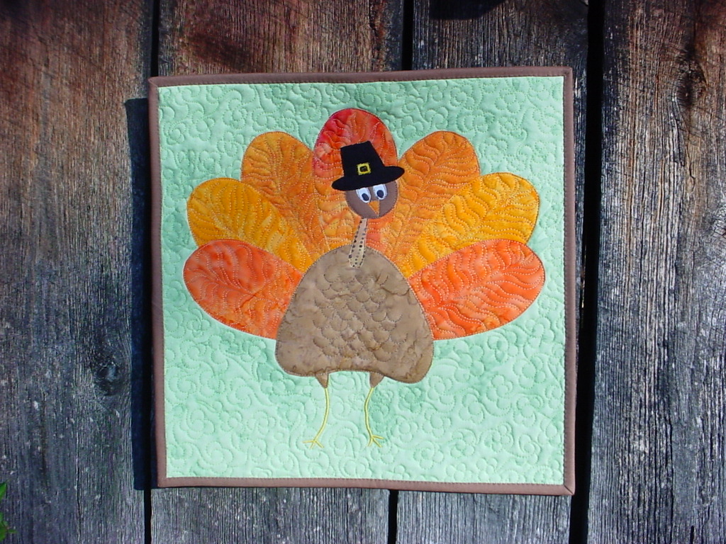 Turkey wall hanging from 2012