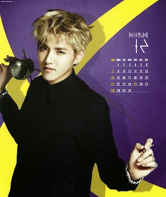 exo calendar 2014 kris