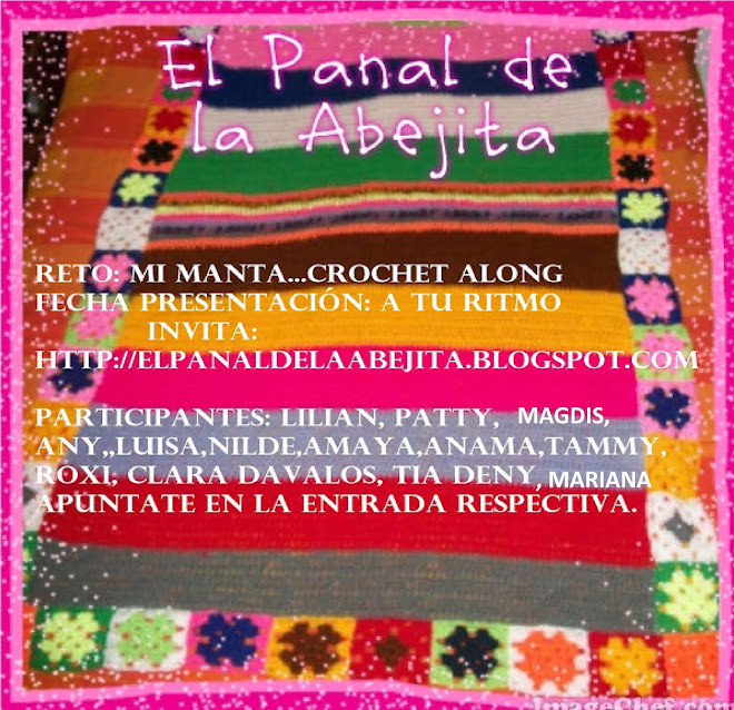 RETO: MI MANTA...CROCHET ALONG
