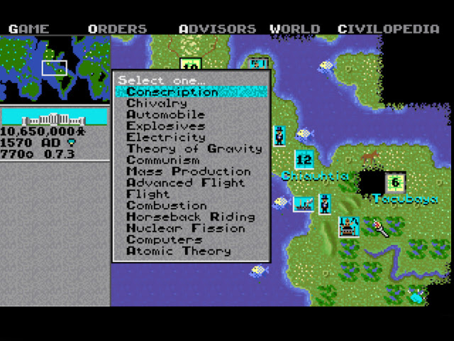 Sid Meire's Civilization - Stealing Technologies Screenshot