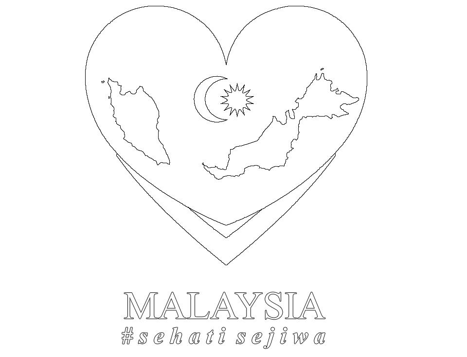 Logo Merdeka 2015 Sehati Sejiwa Gambar Mewarna