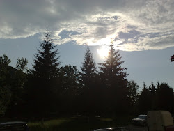 Apus de soare in Covasna