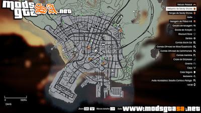 V - Mapa Old-Gen para GTA V PC
