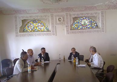القيادة القطرية لحزب البعث العربي الاشتراكي تلتقي بقياة التنظيم الناصري
