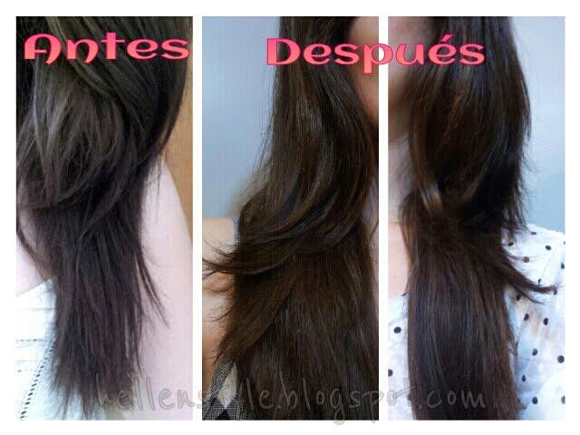 Como poner correctamente la máscara para los cabellos a los cabellos