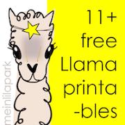 Free llama printables: