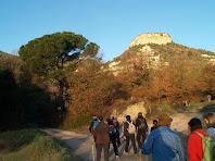 El Roc de la Guàrdia des de Les Roquetes