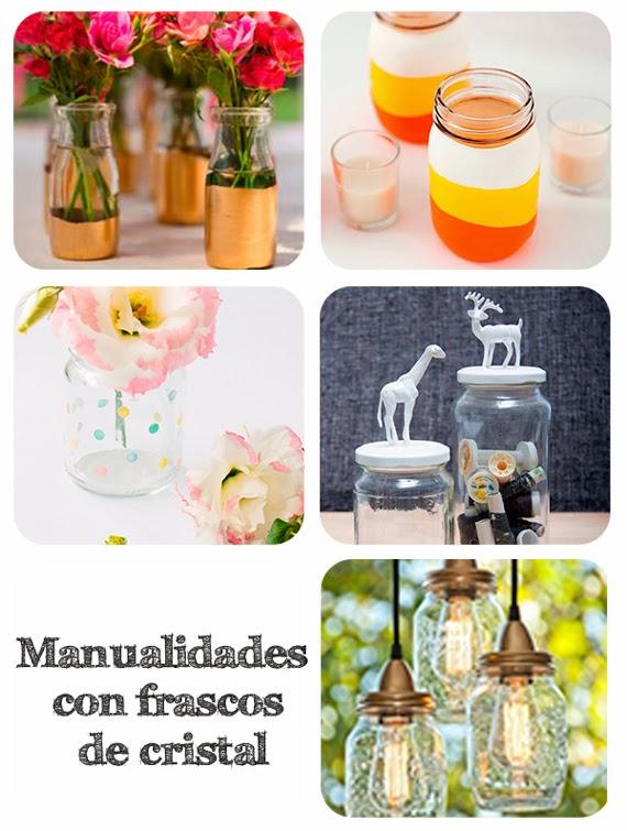 Mar vi blog manualidades con frascos de cristal - Manualidades con botes de cristal ...