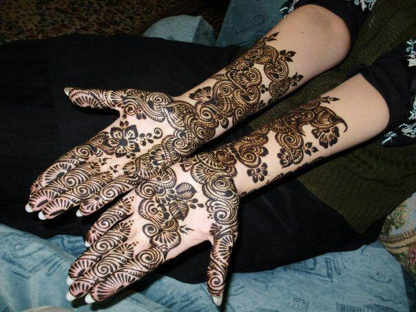 Mehndi Designs Rose : Madeleine rose yen: new bridal mehndi designs 2013 wedding