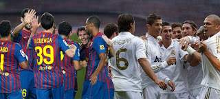 Formaciones del Real Madrid Vs Barcelona