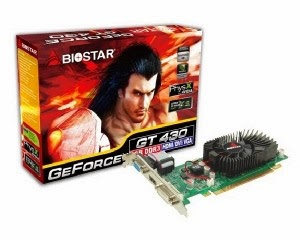 Daftar harga VGA Biostar Nvidia Geforce 2014