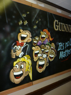 traditional signage dobell designs guiness irish stout beer