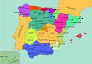 PROVINCIAS DE ESPAÑA. Pincha en los enlaces, que te llevarán a los mapas con . (provincias de espana)