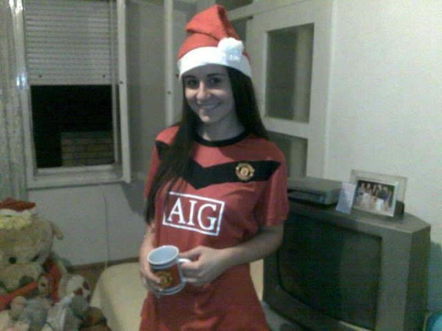 Manchester United girl from?