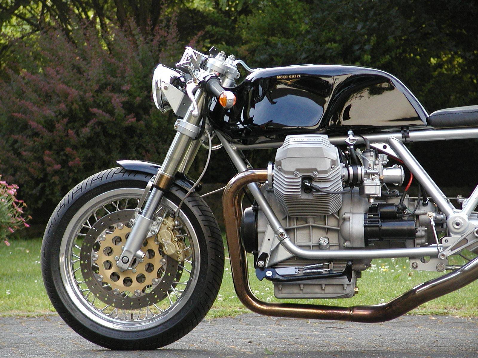Racing Caf U00e8  Moto Guzzi Le Mans Iii Special