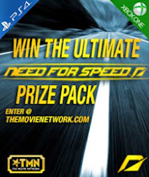 Need For Speed Blu Ray - XBox One - PS4 Video Game Giveaway - via TMN