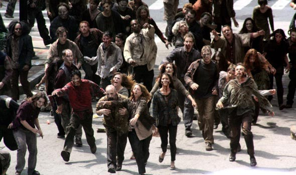 The Walking Dead - Maqulaje  de zombies