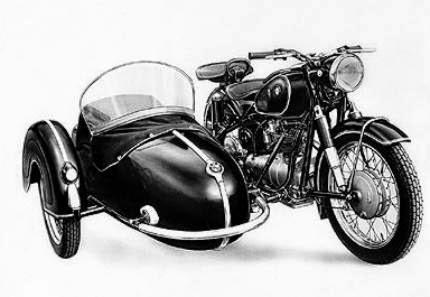 BMW R27 1960~1966 ( Sespan )